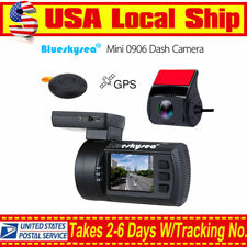 Mini 1080P Dual HD Car Dash Camera GPS DVR G-Sensor WDR HDMI Night Vision RC Cam