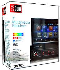 """Dual DV705 In-Dash 7 """"Touchscreen DVD/CD/USB/MP3/FM/AUX New Car Stereo DV705"""