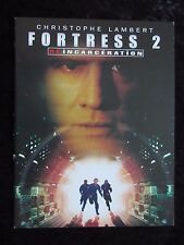 Fortress 2 press book - 16 pages - Christopher Lambert