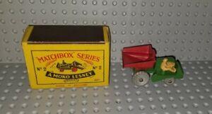 1953 Matchbox Moko Lesney No.2B 'Muir Hill Dumper