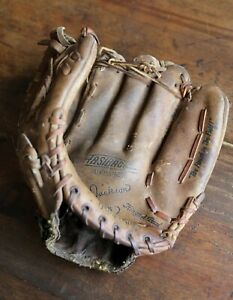 "Reggie Jackson Autograph Rawlings Baseball Glove RHT GJF36 12"" Vintage Leather"