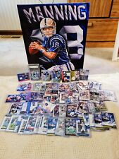 Huge Peyton Manning Lot!! Rookie, Game-Used, #'d, Canvas, Chrome, Graded 10!