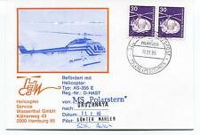 Polarstern Posted at Sea Helicopter Druzhnaya Hamburg Polar Arctic Cover SIGNED
