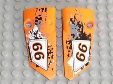LEGO TECHNIC Orange panel fairing small 3 & 4 ref 64683  64391 / set quad 9392