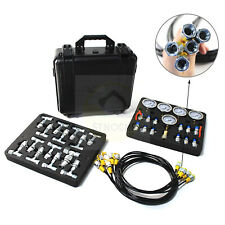 Sinocmp Hydraulic Pressure Test Kit 5 Gauges 5 Hoses 13 Couplings 14 Connectors