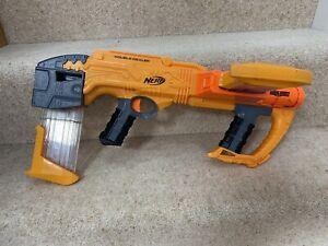 Nerf Doomlands 2169 Double Dealer Blaster/Gun - 2 x 12 Clip Magazines