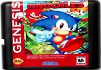 Sonic 3 & Knuckles (1994) 16 Bit Game Card For Sega Genesis / Mega Drive System