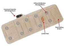 Shiatsu Massage Machine Pad Heat Therapy Vibration Massager Back Pain Relief New