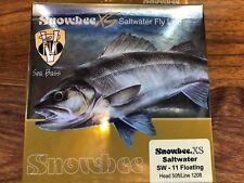 Special Offer Snowbee XS Hi Viz White Saltwater Floating Fly Line # 11