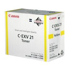 C-EXV21Y-0455B002 TONER ORIGINALE CANON IR C2380I C2880 C2880I C3080 IRC 3080I C