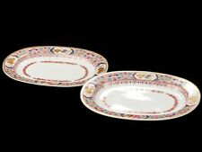 c1800 Pair of Chinese Style Early Spode Serving Dishes