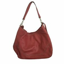 DOONEY AND BOURKE Red Pebbled Leath
