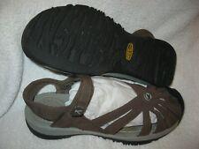 Keen women's Rose model brown hook & loop strap sandals (style 1010999) size 9