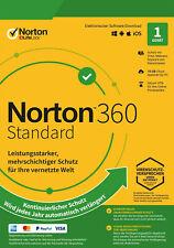 Symantec Norton 360, Standard/Deluxe/Premium, 1-10 Geräte,12 Monate ESD KEIN ABO