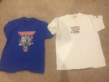 RARE Men's Pokemon Trading Card Game League Super Trainer Showdown Shirt L/XL