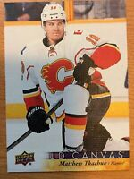 UPPER DECK 2017-2018 SERIES ONE MATTHEW TKACHUK CANVAS HOCKEY CARD C-15