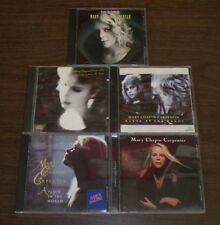 5 Mary Chapin Carpenter CD~State Of The Heart~A Place In The World~Time Sex Love