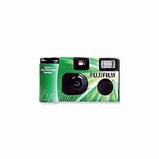 Fuji Fujifilm QuickSnap Disposable Camera With Flash 400 35mm 27 Photos One Time