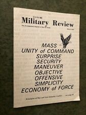 Military Review Professional Journal Of The Us Army March 1985 Issue