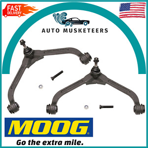 For Jeep 02-07 Liberty Set of 2 Front Upper Control Arms+Ball Joints Moog RK3198