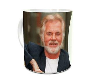 Kenny Rogers Mug 11oz Ceramic Mug