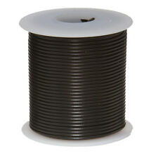 "28 AWG Gauge Stranded Hook Up Wire Black 100 ft 0.0126"" MIL Spec 600 Volts"
