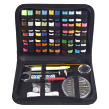128pcs Portable Professional Sewing Set Home Emergency Travel Sewing Kit B0M6F