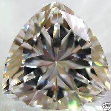 10.0 x 10.0 mm 4 ct TRILLION Cut Sim Diamond, Lab Diamond WITH LIFETIME WARRANTY