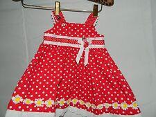 Blueberi Boulevard Red White Polka Dot Lady Bug Size 12 Months Sun Dress