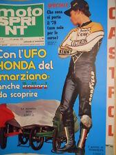 Motosprint 1 1979 Speciale i Giochi di Kenny Roberts  [SC.31]