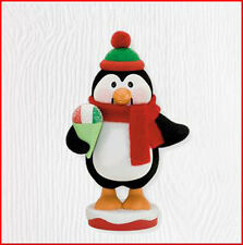 2010 Hallmark SNOW HAPPY TO SERVE Ornament NOEL NUTCRACKERS #3 Penguin