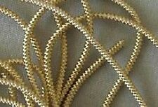 Rough Purl, Ivory Gold Bullion. Metal Thread Embroidery
