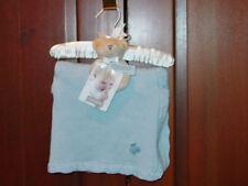 Carter'S Infant Blue Blanket Rattle & Hanger Set New With Tags