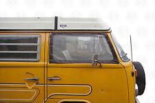 Cabina de calidad alemana ventana Mosquiteros Para VW T2 Bay Ventana Con Imanes C9071