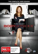 Body Of Proof : Season 3 (DVD, 2014, 3-Disc Set) BRAND NEW SEALED