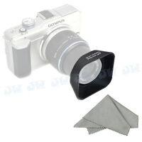 JJC Square Lens Hood for OLYMPUS M.ZUIKO DIGITAL 14-42mm 1:3.5-5.6 II R as LH-40