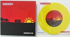 "HOLLOWAYS 7"" x 2 Genarator Fully SIGNED (2007) + YELLOW Vinyl 7"" + BONUS New UNP"