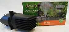 Blagdon Amphibious  Pond Pump P4000  3600  Lt/Hr For Koi Pond