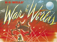 H.G. Wells The war of the worlds #2 movie poster