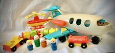Vintage Fisher Price Little People AIRPORT LOT (1970-1972)