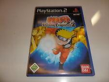 Playstation 2 ps 2 NARUTO-uzumaki chronicles 2