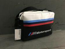BMW M Motorsport Shoulder Messenger Bag OEM 80222461144