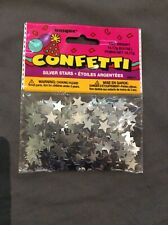 Silver Star Bday Glitz Table Confetti Scatter Party Celebration Decoration