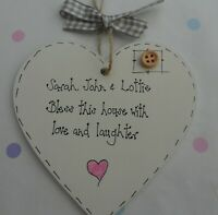 New Home  Housewarming  Personalised Plaque Sign Moving Present keepsake gift