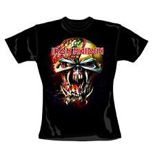 Iron Maiden-Final Frontier Big Head-Démoniaque Girl Femmes Shirt-Taille Size S