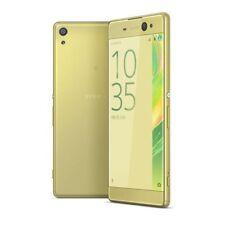 Teléfonos móviles libres Sony color principal oro