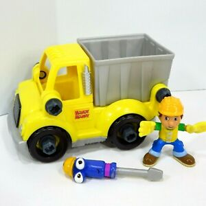 Fisher Price Handy Manny Dump Truck Fix and Swap Construction Job