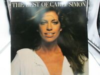 Carly Simon ‎– The Best Of Carly Simon LP 1975 Elektra ‎– 6E-109 VG++ c VG++