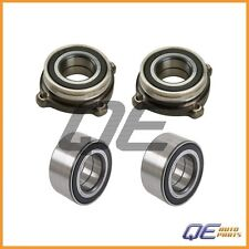 Set 2 Front and 2 Rear Wheel Bearings For: 2000-2010 BMW X5 530xi 535i xDrive
