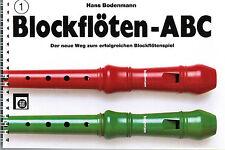 Blockflöte Noten Schule : Blockflöten ABC 1 (Bodenmann) Anfänger   sehr leicht